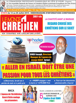Le monde Chr?tien sur Abidjan Tribune