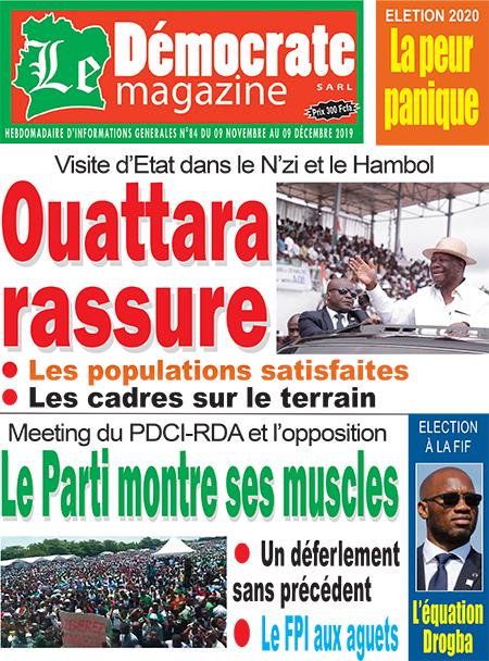 Le Democrate sur Abidjan Tribune