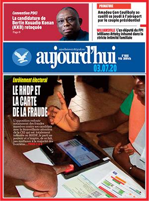 Aujourd'hui sur Abidjan Tribune