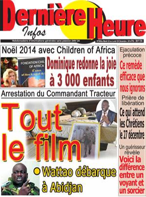Derniere heure sur Abidjan Tribune