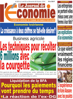 Le Journal de l'Economie sur Abidjan Tribune