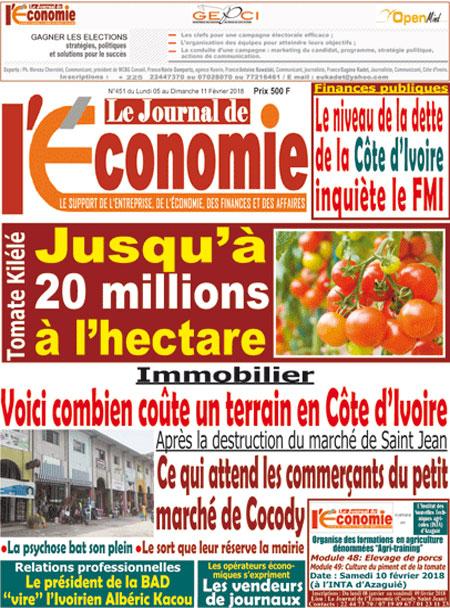 agriculture ivoirienne abidjan tribune titrologie. Black Bedroom Furniture Sets. Home Design Ideas