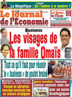 Le Journal de l'Economie sur Abidjan Tribune