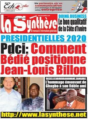 La Synth?se sur Abidjan Tribune