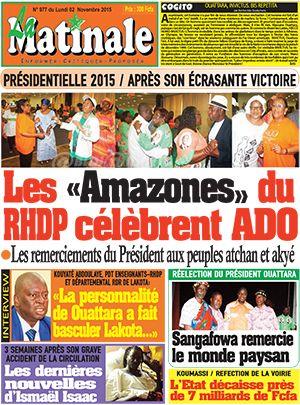 la Matinale sur Abidjan Tribune