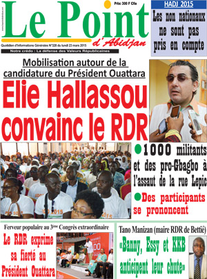 Le Point d'Abidjan sur Abidjan Tribune