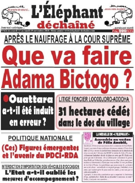 L'Elephant Dechaine sur Abidjan Tribune