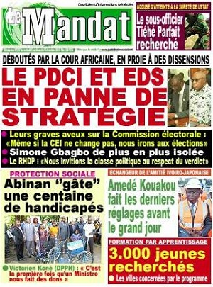 Le Mandat sur Abidjan Tribune
