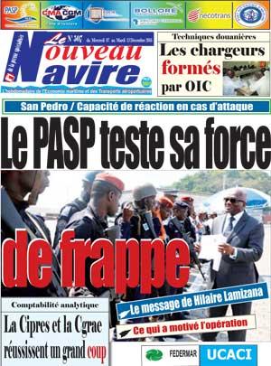 Le Nouveau Navire sur Abidjan Tribune