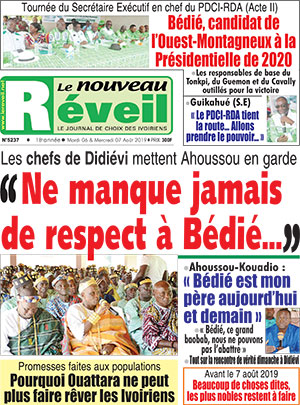 Le Nouveau Reveil sur Abidjan Tribune