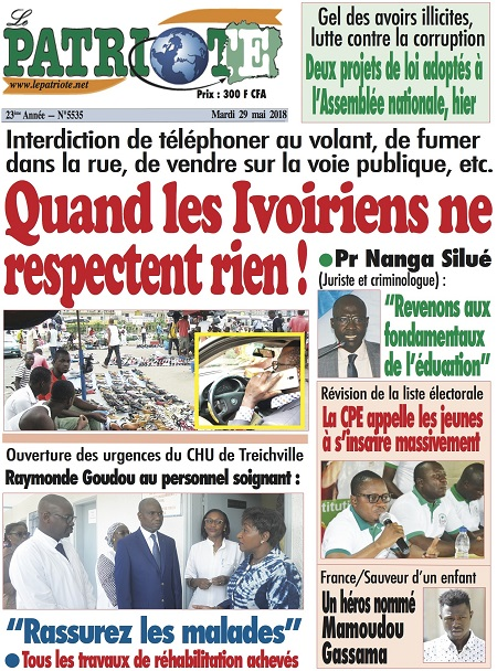 Le Patriote sur Abidjan Tribune