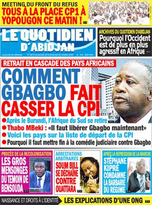 Le Point d'Abidjan sur Abidjan Tribune