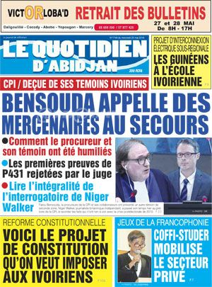 Le Quotidien d?Abidjan sur Abidjan Tribune