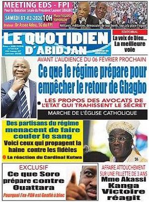 Le Quotidien d'Abidjan sur Abidjan Tribune