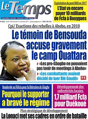 Le Temps sur Abidjan Tribune