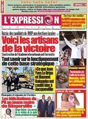 L'Expression sur Abidjan Tribune