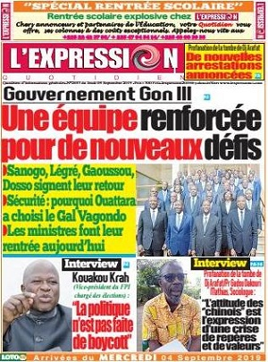 L'Expression sur Abidjan Tribune