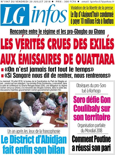 Côte d'Ivoire : Ouattara et Gbagbo se rencontrent le 27 juillet
