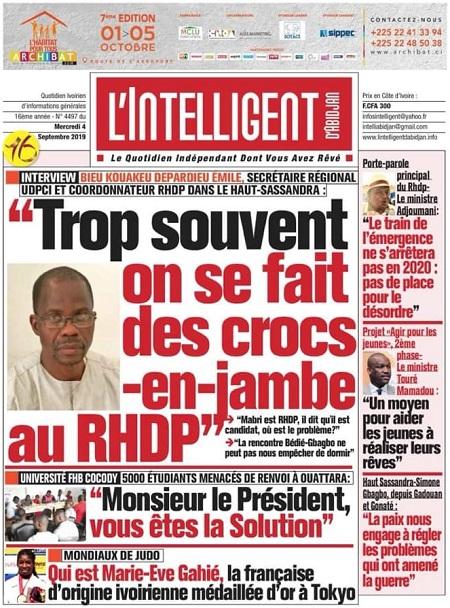 L'Inteligent d'Abidjan sur Abidjan Tribune