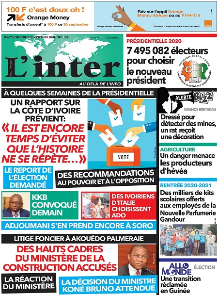 L'Inter sur Abidjan Tribune